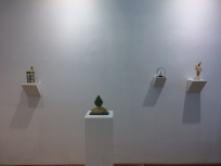 Benjamin Nachtigall, exhibition view Freshly Baked!, Loft 8 Galerie Wien, 2017, Foto: Miroslava Urbanová