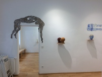 exhibition view Freshly Baked!, Loft 8 Galerie Wien, 2017, Foto: Miroslava Urbanová