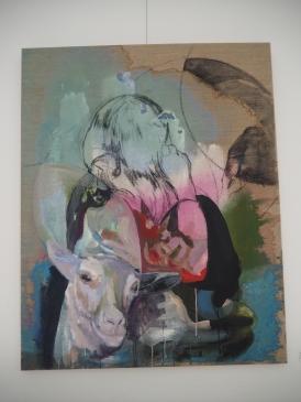 Elisabeth Wedenig, Ausstellungsansicht In den gläsernen Käfigen, Slowakisches Institut Wien, 2018, Foto: Slowakisches Institut Wien