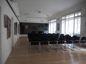 Ausstellungsansicht In den gläsernen Käfigen, Slowakisches Institut Wien, 2018, Foto: Slowakisches Institut Wien