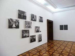 exhibition view Standing Waters, Bratislava City Gallery, 2017, photo: Mária Čorejová