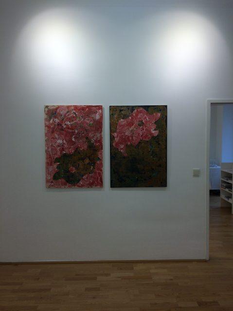 Ausstellungsansicht good news my darling, Loft 8 Galerie Wien, 2017, Foto: Miroslava Urbanová