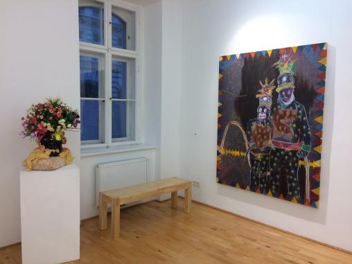 Ausstellungsansicht, Das Paradies, Loft 8 Galerie Wien, 2018, Foto: Miroslava Urbanová