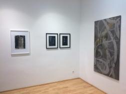 Ausstellungsansichten Working Title #45: o.T., Loft 8 Galerie, 2018, Foto: Miroslava Urbanová