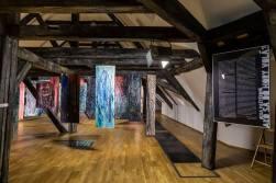 zábery z výstavy Ako sa do hory volá?, Galéria mesta Bratislavy, 2018, foto: Richie Studio