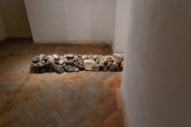 Dominika Kunzová, exhibition view Deeper Down Than Inside, Medium Gallery, Bratislava, 2018, photo: Ján Šipöcz