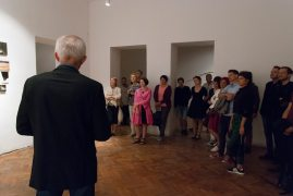 exhibition view Deeper Down Than Inside, Medium Gallery, Bratislava, 2018, photo: Ján Šipöcz