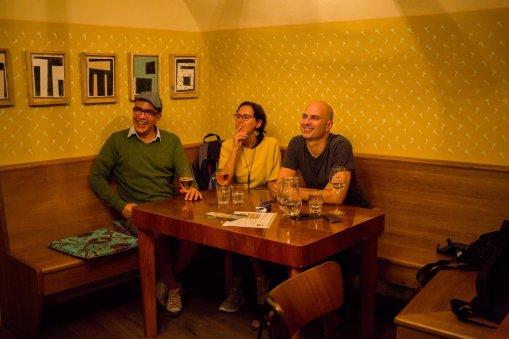 exhibition opening Wiener Schmankerln, Pinot u Bruna, 2018, photo: Martina Šimkovičová