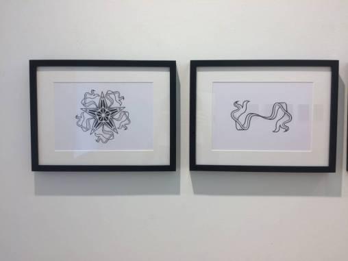 Vera Klimentyeva, exhibition view Sisters in Arms, Loft 8 Galerie Wien, 2017, Foto: Miroslava Urbanová