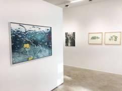 Ausstellungsansicht, An der Schwelle, Loft 8 Galerie Wien, 2018, Foto: Miroslava Urbanová