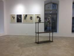 Ausstellungsansicht Figure Me Out, Loft 8 Galerie Wien, 2018, Foto: Miroslava Urbanová