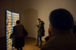 exhibition view GLITCH, Medium Gallery, 2019, photo: Ján Šipöcz