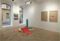 Petra Gell, Ausstellungsansicht TRI, Loft 8 Galerie Wien, 2019, Foto: Miroslava Urbanová