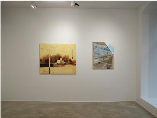 Ausstellungsansicht TRI, Loft 8 Galerie Wien, 2019, Foto: Miroslava Urbanová