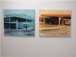 Felix Malnig, Ausstellungsansicht TRI, Loft 8 Galerie Wien, 2019, Foto: Miroslava Urbanová