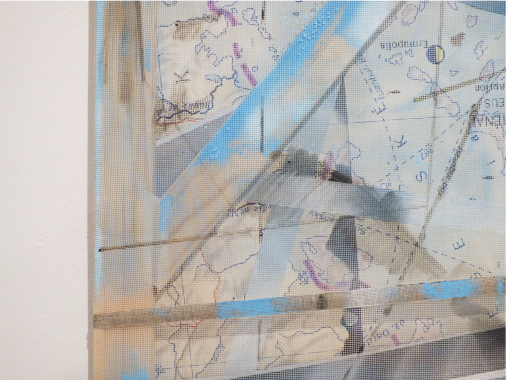 Peter Cvik, Ausstellungsansicht TRI, Loft 8 Galerie Wien, 2019, Foto: Miroslava Urbanová