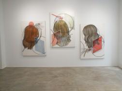 Ausstellungsansicht, Loft 8 Galerie Wien, 2019, Foto: Miroslava Urbanová