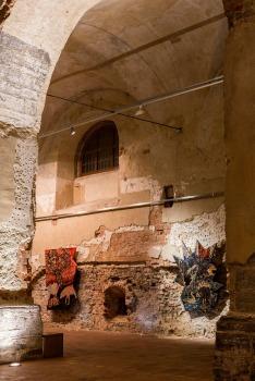 záber z výstavy Oľgy Paštékovej Kde bolo-nebolo, Dom umenia Opava, 2019, foto: Richie Studio