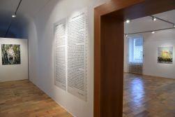 záber z výstavy Kristíny Mésároš Café Moon, Liptovská galéria P.M. Bohúňa, 2019, foto: Liptovská galéria P.M. Bohúňa