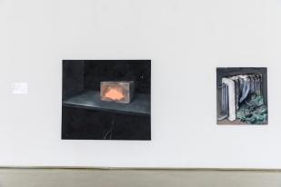 Ľudmila Machová, exhibition view MELANCH LIA, PGU Žilina, 2019, photo: Ľuboš Kotlár