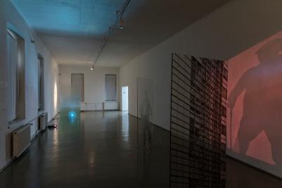 Martina Šimkovičová, exhibition view MELANCH LIA, PGU Žilina, 2019, photo: Ľuboš Kotlár