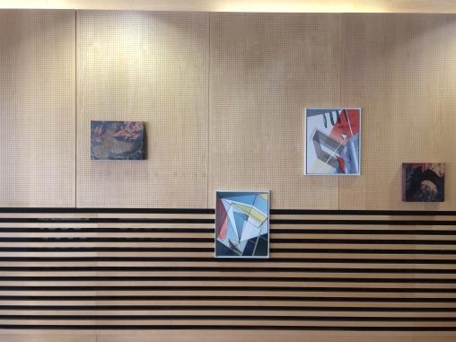 Ausstellungsansicht A bird named Kafka, Slowakisches Institut Berlin, 2020, Foto: Miroslava Urbanová