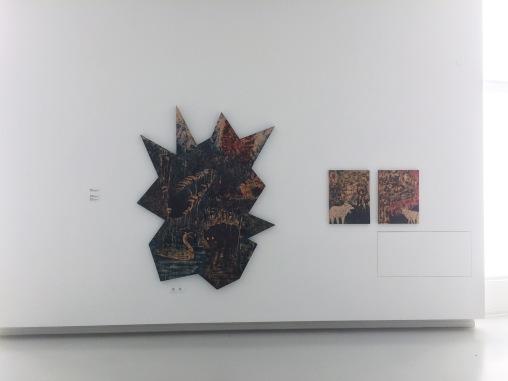Oľga Paštéková, exhibition view Riders at Zoya Museum, 2020, photo: Miroslava Urbanová