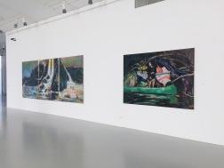 exhibition view Riders at Zoya Museum, 2020, photo: Miroslava Urbanová