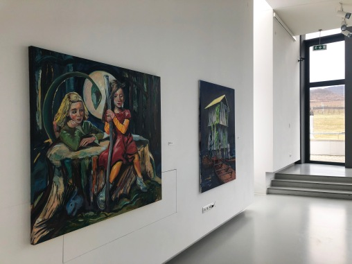 exhibition view Riders at Zoya Museum, 2020, photo: Oľga Paštéková